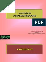 Acción de incostitucionalidad_Carlos Bernal Tupa_Diapositivas