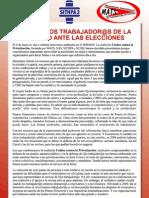 Coalicion Carta a Los Trabajadores