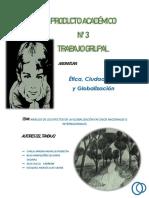 Etica,Ciudadania y Globalizacion