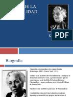 Teorias de La Personalidad. 2014