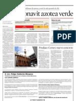 Publicación del periódico Reforma, página completa