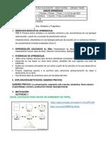Guía 3 - Séptimo - Lengua Castellana