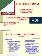 Aeroevacuacion de Multiples Victimas