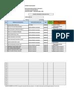 Matriz calificaciones Estudiantes FDA-BGU SIERRA 3ro