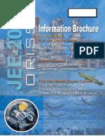 Orissa JEE Information Brochure 2011