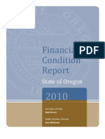 Financial Condition Report