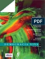 Revista Democracia Viva 20