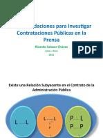 Recomendaciones para Investigar Contrataciones Públicas en la Prensa