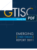 Emerging Cyber Threats Report 2011