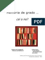 documento memoria