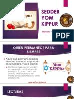 SEDER-YOM-KIPUR