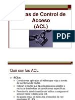 ACL STANDAR y extend