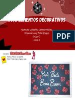 ENTREGABLE N° 11 - PINTURA DECORATIVA - DALESHKA LEON ORELLANO