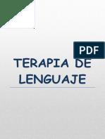 TERAPIA DE LENGUAJE RICKY PACHECO
