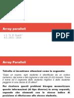 Array Paralleli