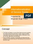 Internationalization of Service Sector 1