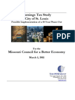 Earnings Tax Study of City of St. Louis_Possible Implementation of a 10-Year Phase-Out