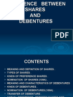 shares-and-debuntures