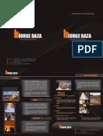 PORTAFOLIO DE SERVICIOS JORGE DAZA CONSTRUCCIONES