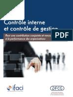 DFCG IFACI Controleinterneetcontroledegestion 2013