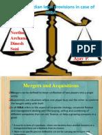 Regulations Rules M & A