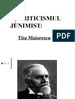 Titu Maiorescu Power Point