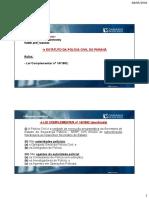 Material de Apoio-Estatuto da Policia Civil do Parana-Ricardo Baronovsky