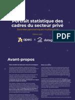 Portrait Statistique Des Cadres du secteur privé