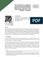 Libertad de expresión en Argentina y CIDH - Hernán Gullco