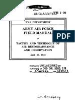 Air recon manual