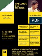 INFORME HABLEMOS DEL SUICIDIO