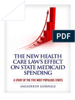 The New Health Care Law's Effect on State Medicaid Spending
