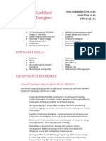 3D Digital Design CV