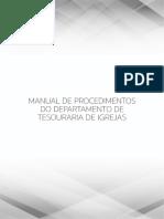 Manual Tesouraria
