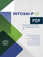 INTOSAI-P-10-Déclaration-de-Mexico