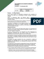 MÉTODOS EMPÍRICOS DE DISEÑO EN MINERÍA SUBTERRÁNEA