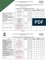ANEXO I - Cargo-Função Pública - Escolaridade - Requisitos - Jornada de Trabalho - Vencimento - Vagas - Retificação Nº 02