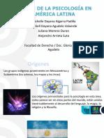 Origen de la Psicología en América Latina