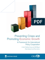 Preventing Crises and Promoting Economic Growth