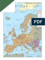 Creuse en Europe