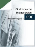 Síndromes de malabsorción
