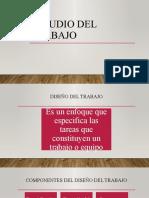 ESTUDIO DEL TRABAJO