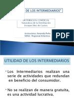 UTILIDAD DE LOS INTERMEDIARIOS1
