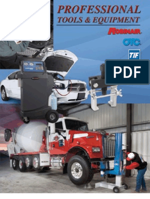 OTC Catalog A9000 | Truck | Vehicles