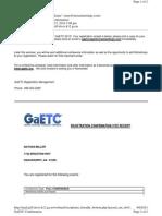 GaETC Registration