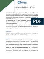 Guia da Disciplina de Libras CEDERJ2016.1