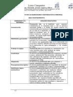 Analisis Cualitativo de Las Habilidades y Destrezas en El Personal