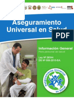 Aseguramiento Universal en Salud - Información General