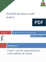 03-Audit 1_Module 3_audit - outil de resp et reddition de compte