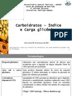 4A_Carboidratos - IG e CG